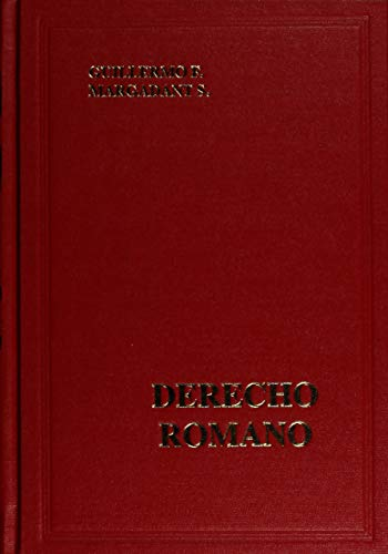 derecho romano esfinge 2011: MARGADANT S., GUILLERMO
