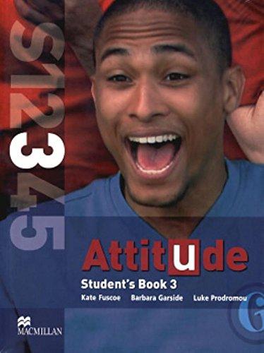 Attitude 3 SB/Wb & CD Pack: KATE FUSCOE