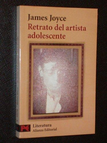 9789706669735: Retrato del artista adolescente/ Portrait of the Adolescent Artist (Spanish Edition)