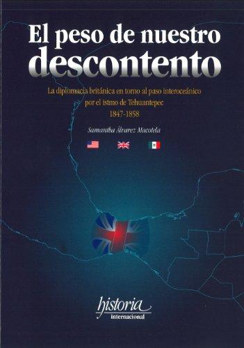 El Peso de Nuestro Descontento: La Diplomacia: Samantha Álvarez Macotela