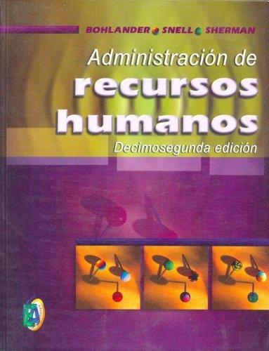 9789706861085: Administracion de Recursos Humanos