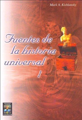 9789706861146: Fuentes de La Historia Universal 1