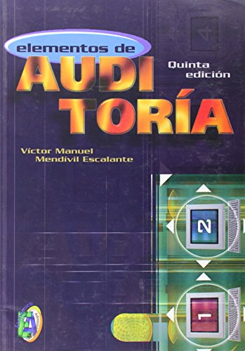 ELEMENTOS DE AUDITORIA 5ED: MENDIVIL ESCALANTE