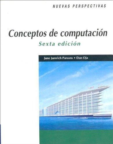 9789706862815: Conceptos de Computacion - Sexta Edicion (Spanish Edition)