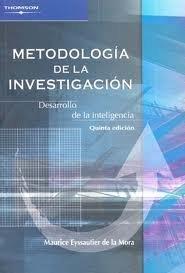 9789706863843: Metodologia de la investigacion/ Research Methodology: Desarrollo De La Inteligencia (Spanish Edition)