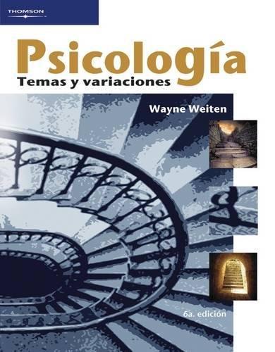 9789706864932: Psicologia/ Psychology: Temas y variaciones (Spanish Edition)