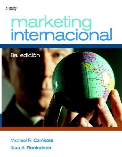 MARKETING INTERNACIONAL: Octava Edicion (Spanish Edition): Michael Czinkota