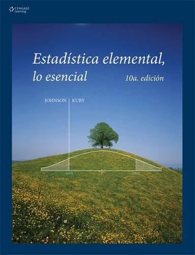 9789706868350: ESTADÍSTICA ELEMENTAL: LO ESENCIAL, Décima edición (Spanish Edition)