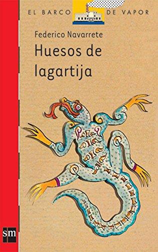 9789706883766: Huesos de lagartija (BARCO DE VAPOR ROJA)