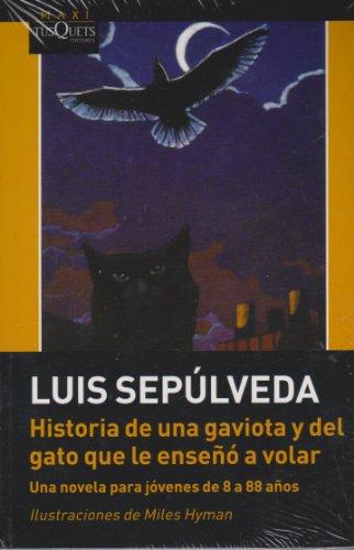 9789706992222: Historia de una gaviota y del gato que le enseno a volar (Spanish Edition)