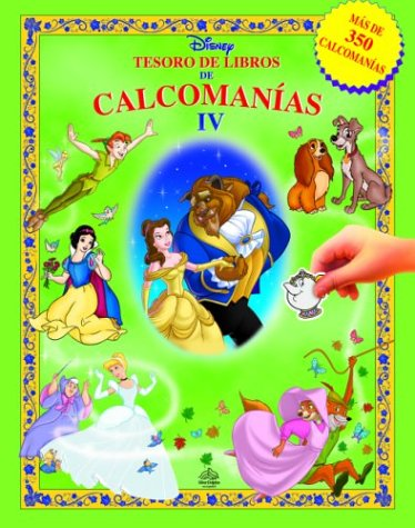 9789707181045: Tesoro de libros de calcomanias, Volume 4: Disney Sticker Book Treasury, Vol. IV, Spanish-Language Edition (Disney calcomanias) (Spanish Edition)