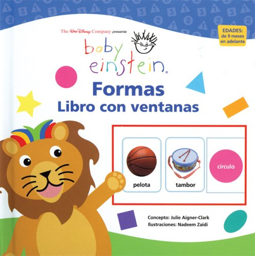 9789707184688: Baby Einstein: Libro con ventanas: Formas: Baby Einstein Flip Flap Book: Shapes (Spanish Edition)