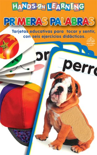 9789707185036: Hands-on Learning: Tarjetas toca y siente. Primeras palabras: Hands-on Learning: First Words (Spanish Edition)
