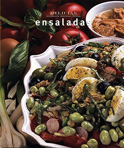 9789707185173: Serie delicias: Ensaladas (Delicias/ Delights) (Spanish Edition)