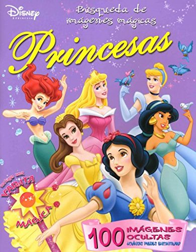 9789707185364: Busqueda De Imagenes Magicas/ Disney Magic Picture Search (Disney Princess/ Disney Princesa) (Spanish Edition)