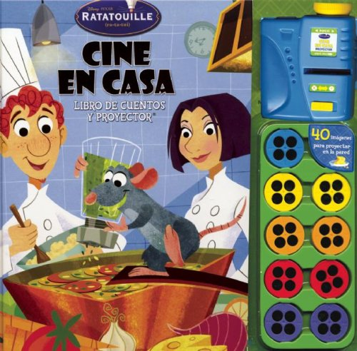 9789707185838: Disney Ratatouille Cine En Casa / Ratatouille Disney Home Theater: Libro de cuentos y proyector / Story book and projector (Cine En Casa/ Movie Theater)