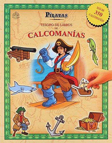 Piratas Tesoros de Calcomanias (Spanish Edition)
