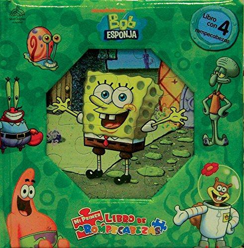 9789707187719: Mi primer libro de rompecabezas/ My First Puzzle book: Bob Esponja/ Sponge Bob