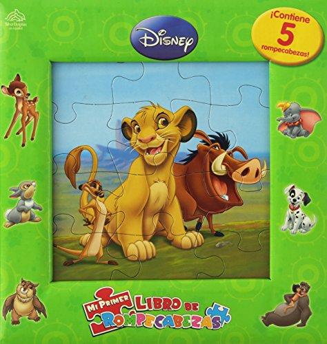 9789707187955: Mi primer libro de rompecabezas / My First Puzzle book (Disney animales/ Disney Animals)