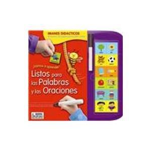 ¡Vamos a aprender! Listos para las palabras y oraciones/ Ready for words and sentences: ...