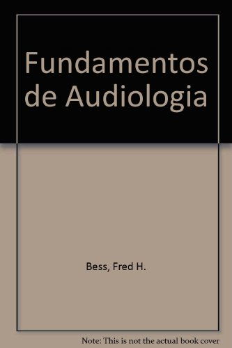 9789707291966: Fundamentos de Audiologia