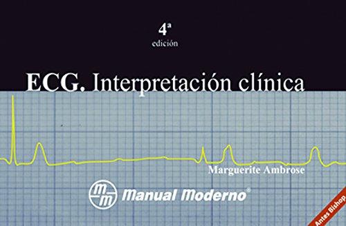 9789707292123: ECG - Interpretacion Clinica