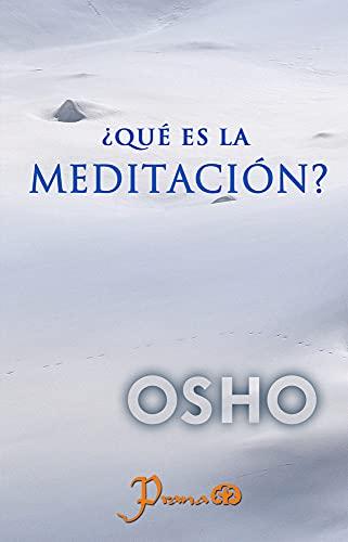9789707322035: Que es la meditacion (Osho Meditations) (Spanish Edition)