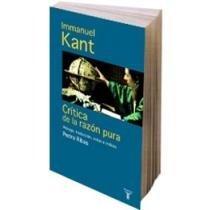 Critica de la razon pura tomo II: Emmanuel Kant