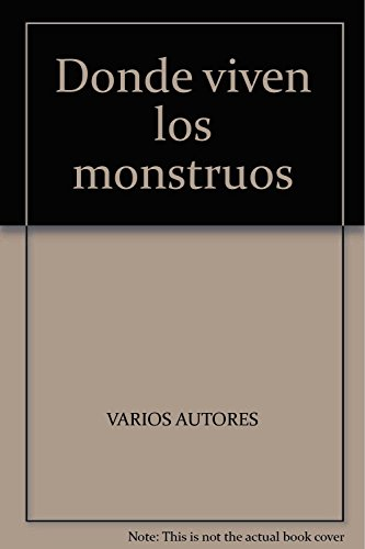 9789707707160: Donde viven los monstruos