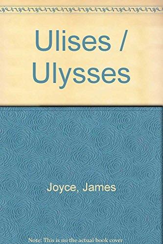 9789707750180: Ulises / Ulysses (Spanish Edition)