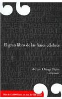 9789707803510: El gran libro de las frases celebres/ The Great Book of Famous Quotes (Spanish Edition)