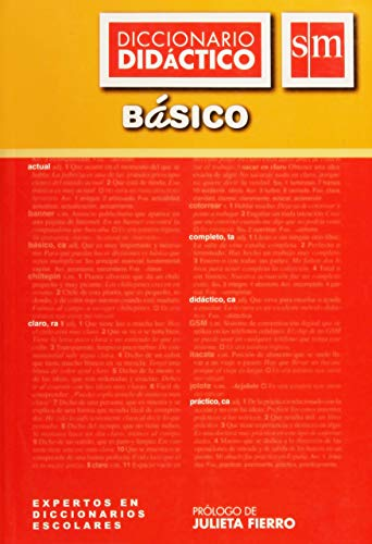 DICCIONARIO DIDACTICO BASICO SM: Varios