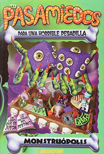 9789708030397: Monstruopolis: Para una horrible pesadilla / For a Horrible Nightmare (Tus pasamiedos) (Spanish Edition)