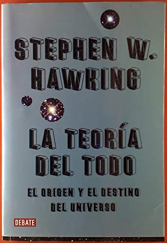 TEORIA DEL TODO, LA (9708102261) by HAWKING, STEPHEN