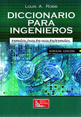9789708170864: Dictionary for Engineers English -Spanish / Spanish English. Diccionario Para Ingenieros Ingles - E