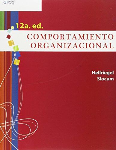 Comportamiento organizacional/ Organizational Behavior (Spanish Edition): Hellriegel, Don