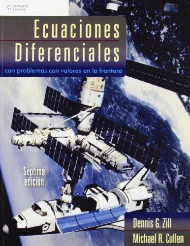 9789708300384: ECUACIONES DIFERENCIALES 7/E CON PROBLEMAS CON VALORES FRONT