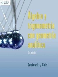 9789708300391: Algebra Y Trigonometria Con Geometria Analitica