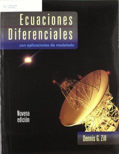 9789708300551: Ecuaciones diferenciales con aplicaciones de modelado/ A First Course in Differential Equations (Spanish Edition)