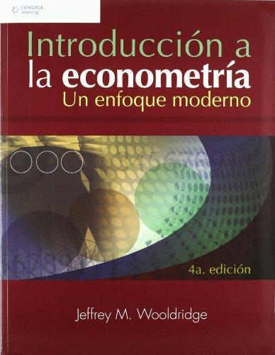 9789708300599: Introduccion a la econometria/ Introductory Econometrics: A Modern Approach (Spanish Edition)