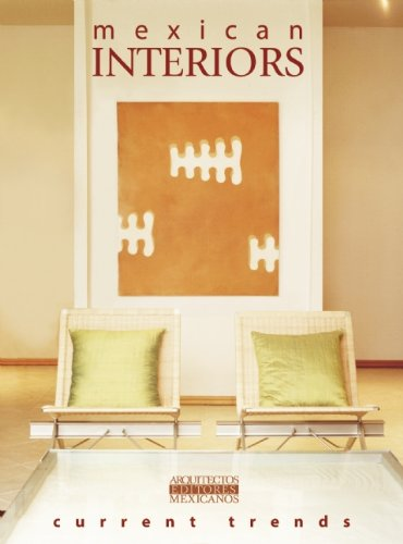 9789709726039: Mexican Interiors Current Trends/Interiores Mexicanos (English and Spanish Edition)