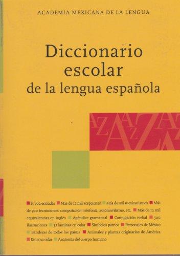9789709902006: Diccionario escolar de la lengua espanola (Spanish Edition)