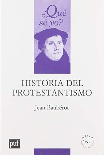 9789709925043: Historia Del Protestantismo