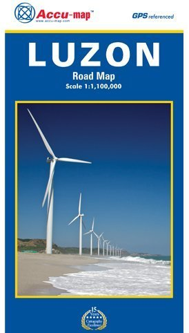 9789710321315: Luzon Road Map