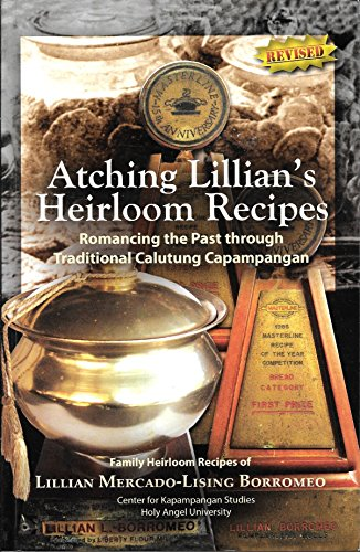 9789710546435: Atching Lillian's Heirloom Recipes (Philippine Import)
