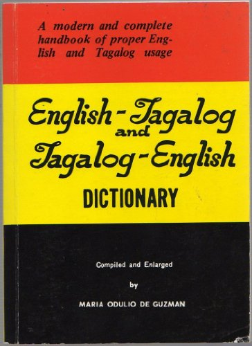 9789710807130: English-Tagalog and Tagalog-English Dictionary