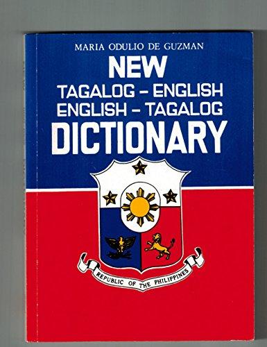 9789710817788: New Tagalog - English Dictionary