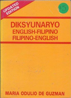 Diksyunaryoo; English-Filipino, Filipino-English; Updated Edition: De Guzman, Maria