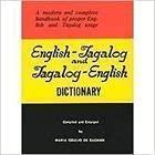 English Tagalog & Tagalog English Dictionary: Maria Odulio de