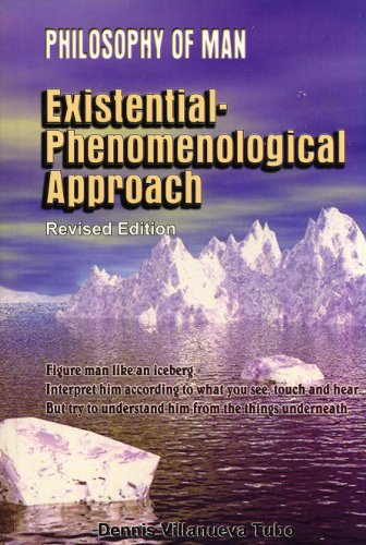 9789710866595: Philosophy of Man: Existential-Phenomenological Approach